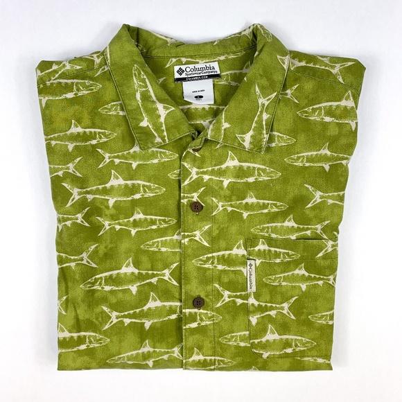 ebd28008 Columbia Shirts | Sportswear Button Down Short Sleeve Shirt | Poshmark